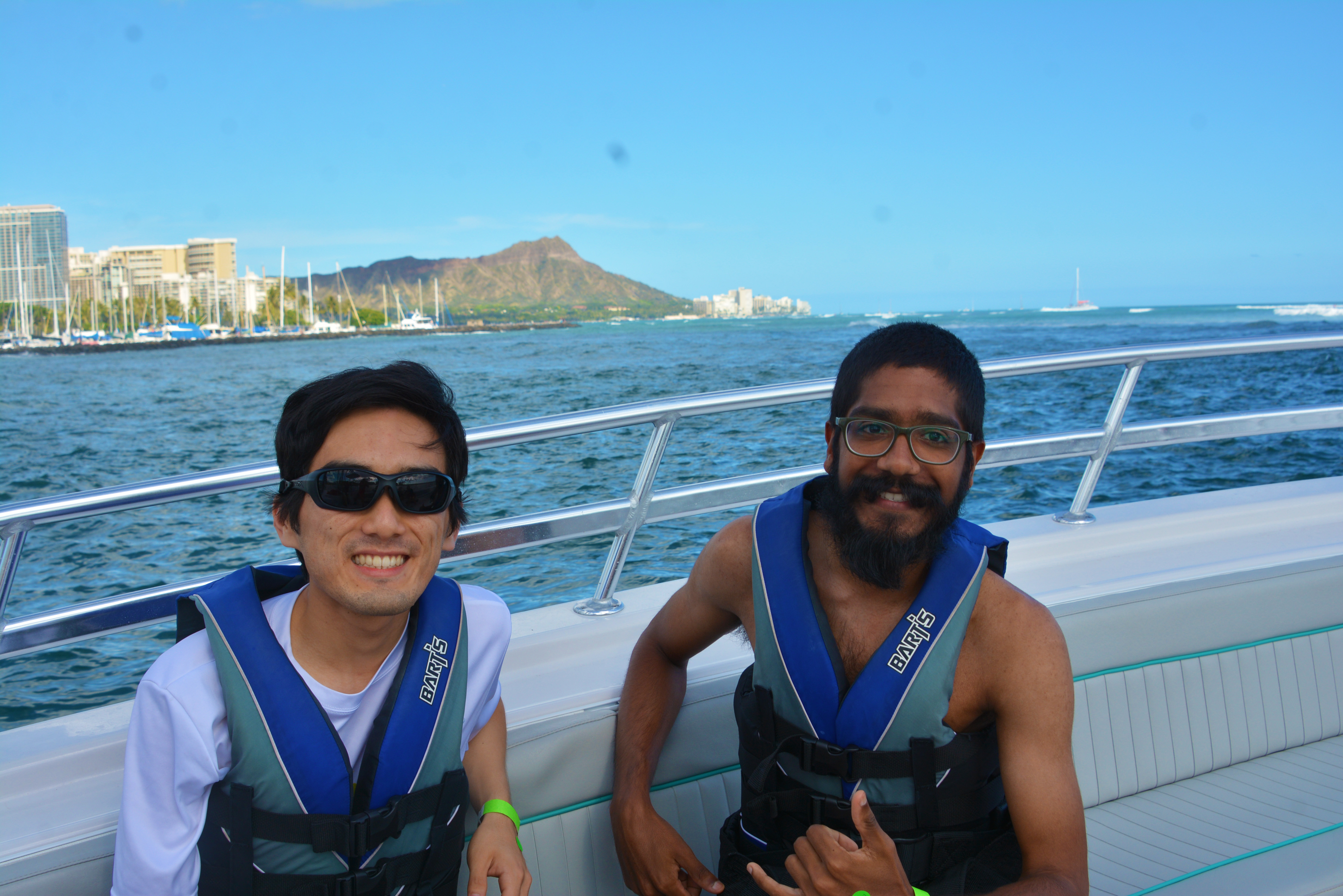 We had fun with Hawaiian Parasail