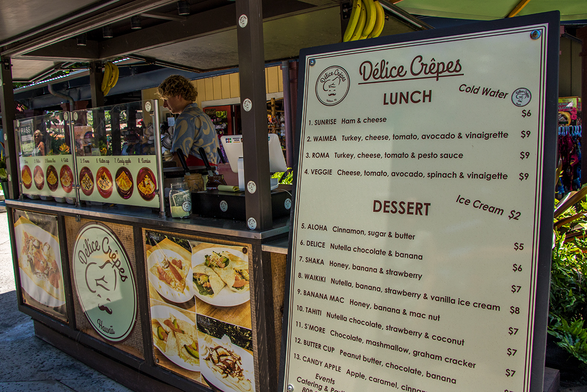 Delice Crepes serves sweet and savory crepes
