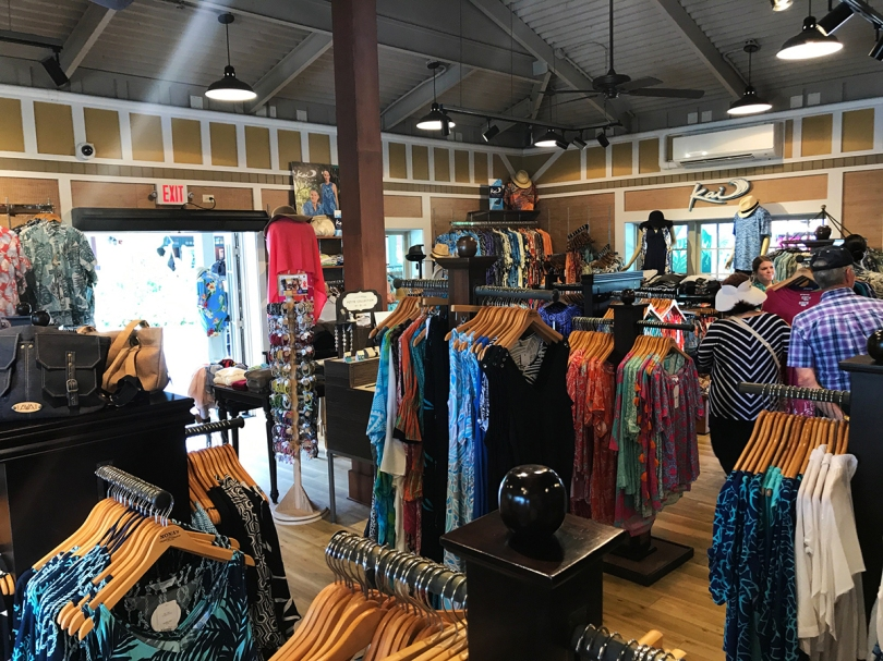 Nona's Tropical Threads, a clothing store in Hukilau Marketplace